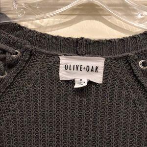 Olive & Oak Sweaters - Olive + Oak Gray Cardigan